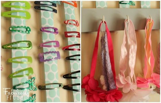 Best ideas about Hair Accessories Organizer DIY . Save or Pin DIY Hair Accessory Organizer Fabulessly Frugal Now.