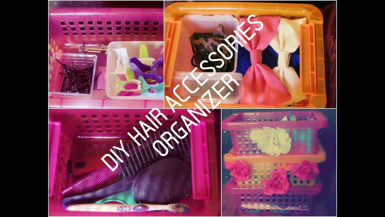 Best ideas about Hair Accessories Organizer DIY . Save or Pin DIY Hair Accessories Organizer EASY Collab with Now.