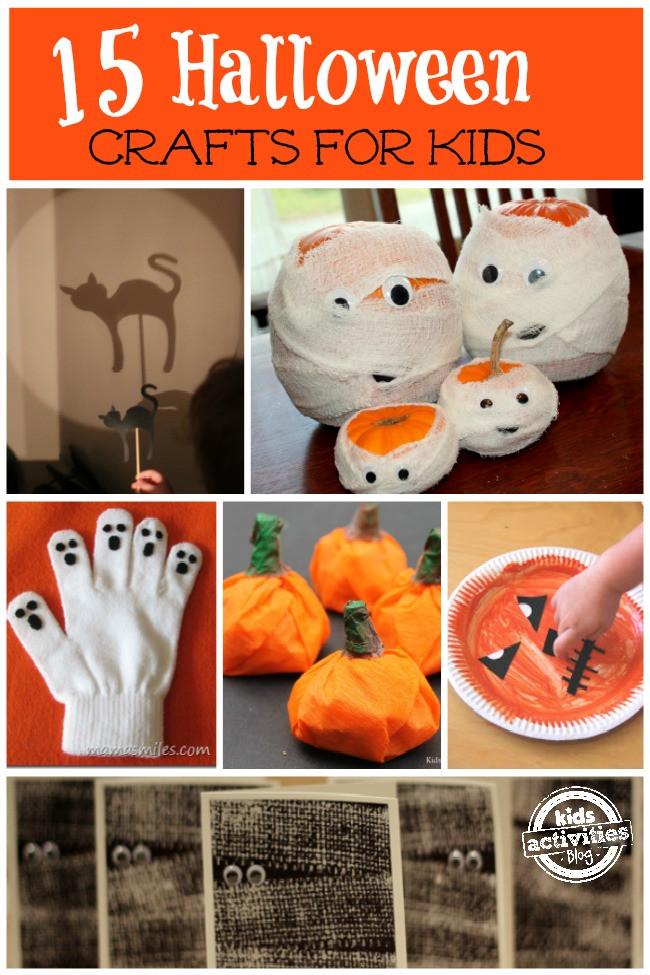Best ideas about Halloween Craft Ideas For Kids . Save or Pin Easy Halloween Crafts for Kids Now.