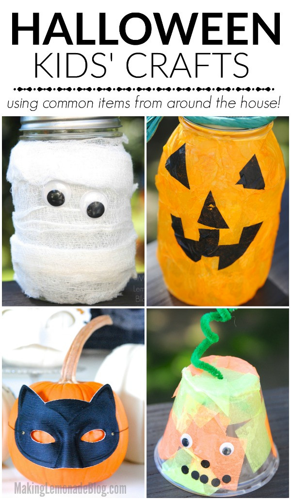 Best ideas about Halloween Craft Ideas For Kids . Save or Pin Quick Halloween Craft Ideas for Kids Now.