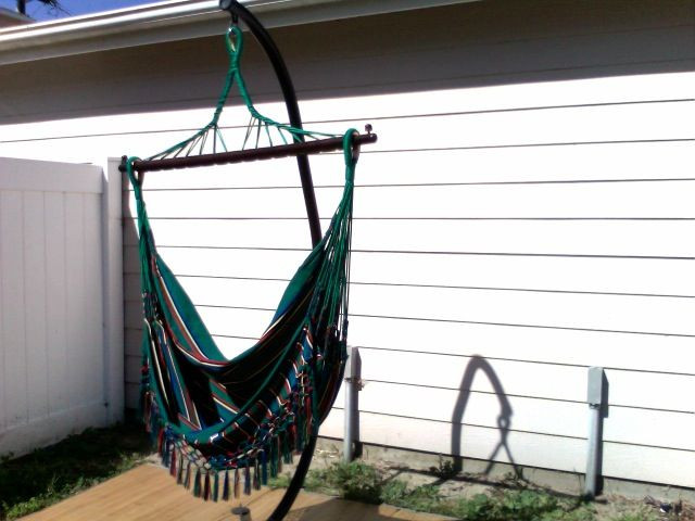 Best ideas about Hammock Chair Stand DIY . Save or Pin 62 best images about Hammock & Chairs on Pinterest Now.