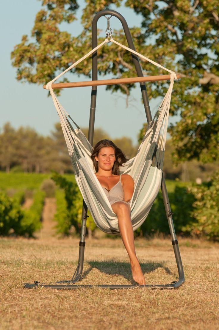 Best ideas about Hammock Chair Stand DIY . Save or Pin Best 25 Hammock chair stand ideas on Pinterest Now.