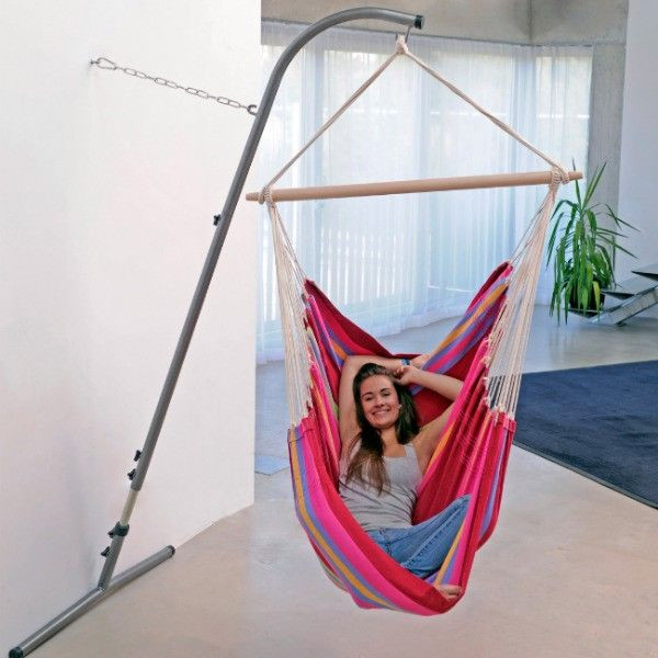 Best ideas about Hammock Chair Stand DIY . Save or Pin 17 Best ideas about Hanging Chair Stand on Pinterest Now.