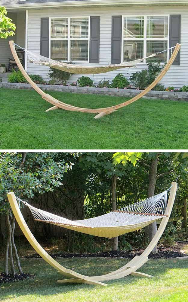 Best ideas about Hammock Chair Stand DIY . Save or Pin DIY Hammock Stand Now.