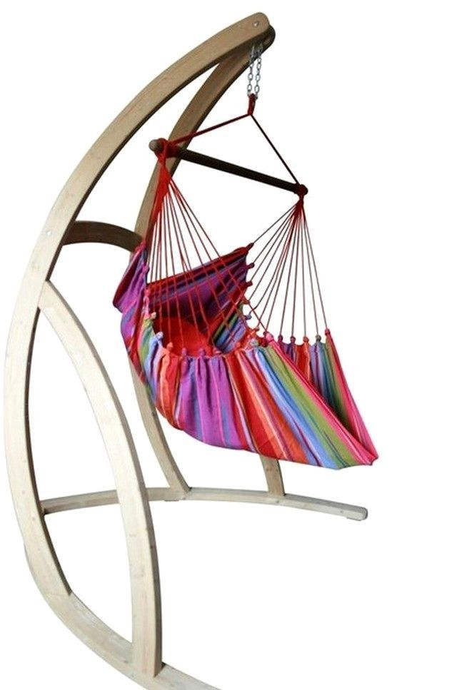 Best ideas about Hammock Chair Stand DIY . Save or Pin Best 25 Hanging chair stand ideas on Pinterest Now.
