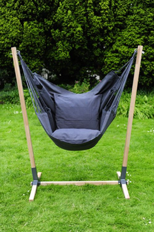 Best ideas about Hammock Chair Stand DIY . Save or Pin Best 25 Hanging chair stand ideas only on Pinterest Now.