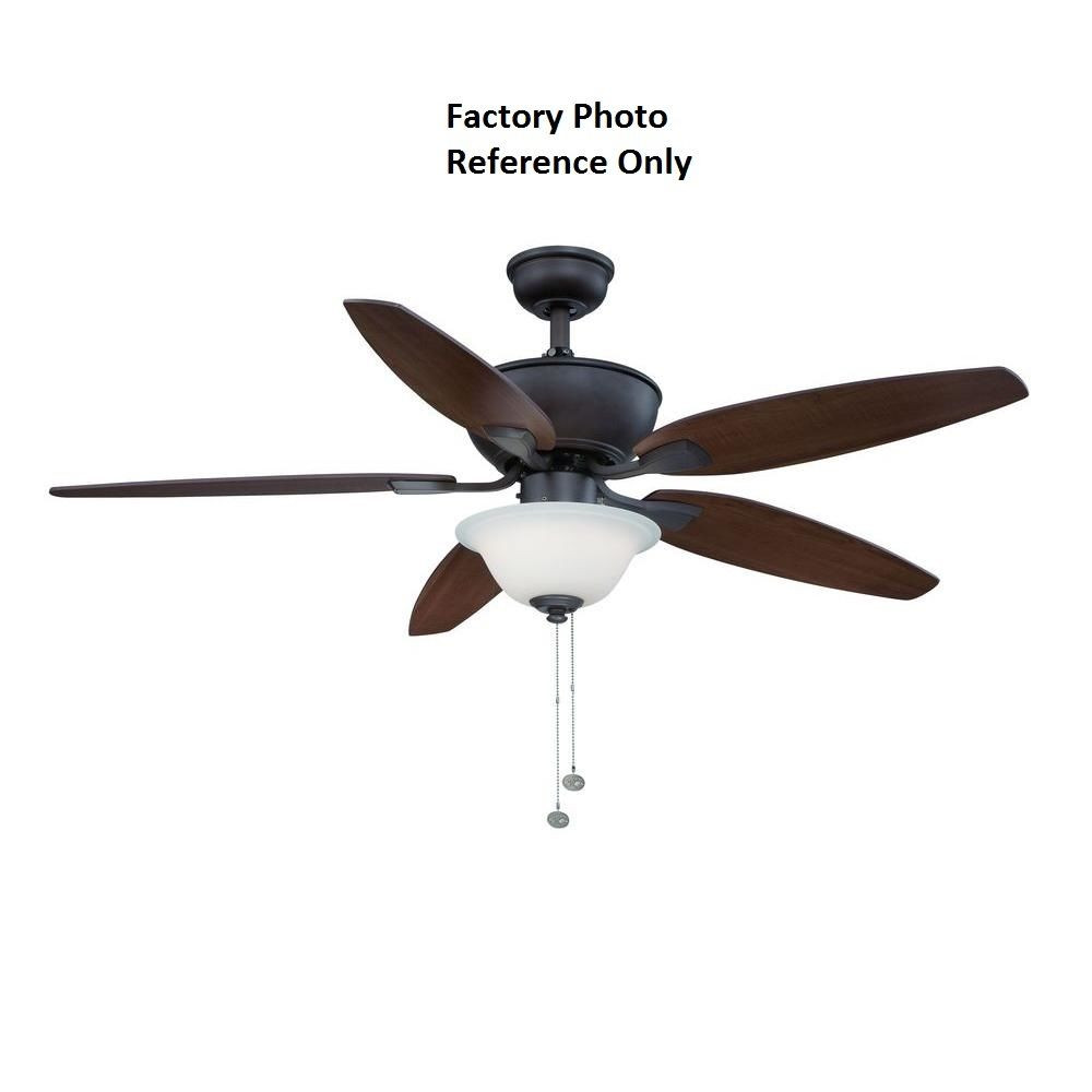 Best ideas about Hampton Bay Lighting Replacement Parts . Save or Pin Hampton Bay Carrolton II LED 52 in Oil Rubbed Bronze Now.