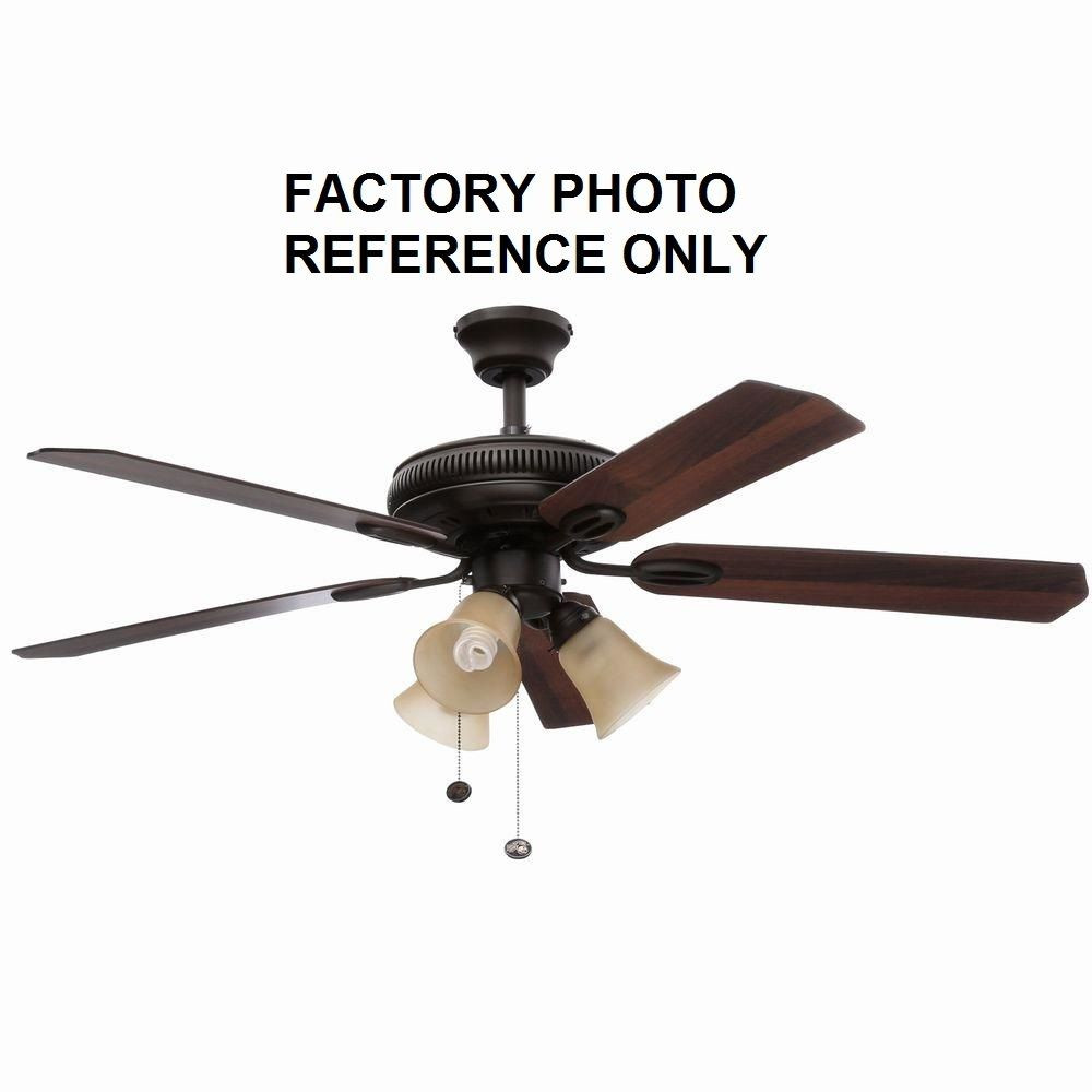 Best ideas about Hampton Bay Lighting Replacement Parts . Save or Pin Hampton Bay Glendale 52 in Oil Rubbed Bronze Ceiling Fan Now.