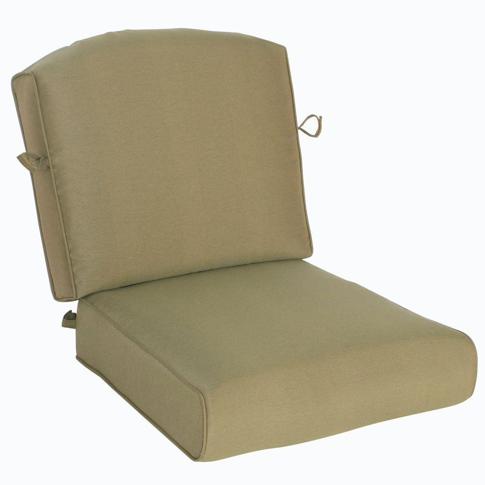 Best ideas about Hampton Bay Patio Cushions . Save or Pin Hampton Bay Edington Lounge Chair Replacement Seat and Now.