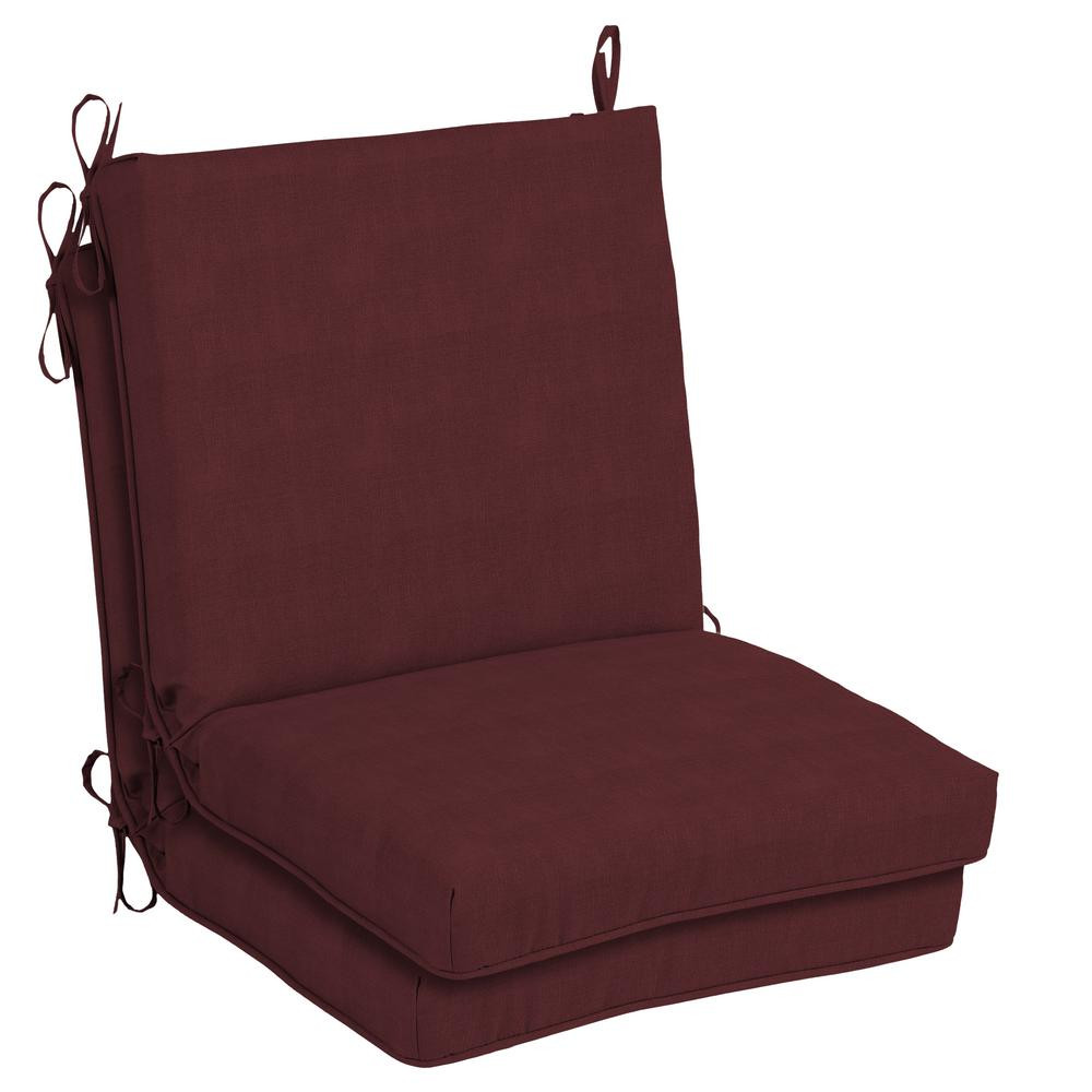 Best ideas about Hampton Bay Patio Cushions . Save or Pin Hampton Bay 20 x 17 Outdoor Dining Chair Cushion in Now.
