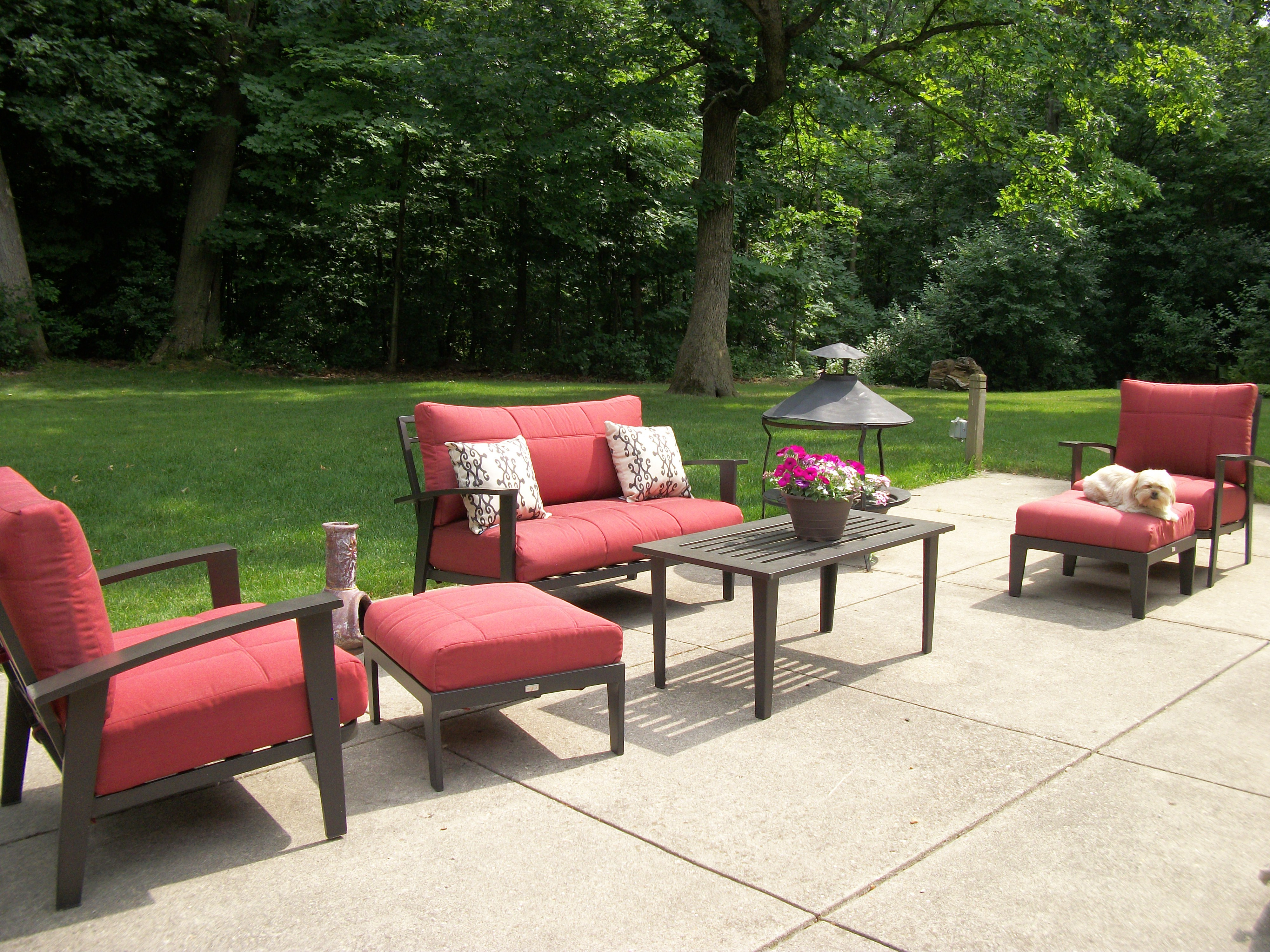 Best ideas about Hampton Bay Patio Cushions . Save or Pin Decking Beauty Hampton Bay Patio Furniture Replacement Now.