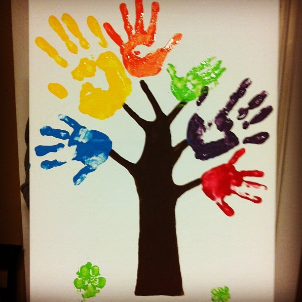 Best ideas about Hand Art For Kids . Save or Pin DIY Easy Fun crafts for Kids at Home Now.