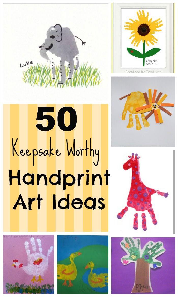 Best ideas about Hand Art For Kids . Save or Pin 50 Keepsake Worthy Kids Handprint Art Ideas Now.