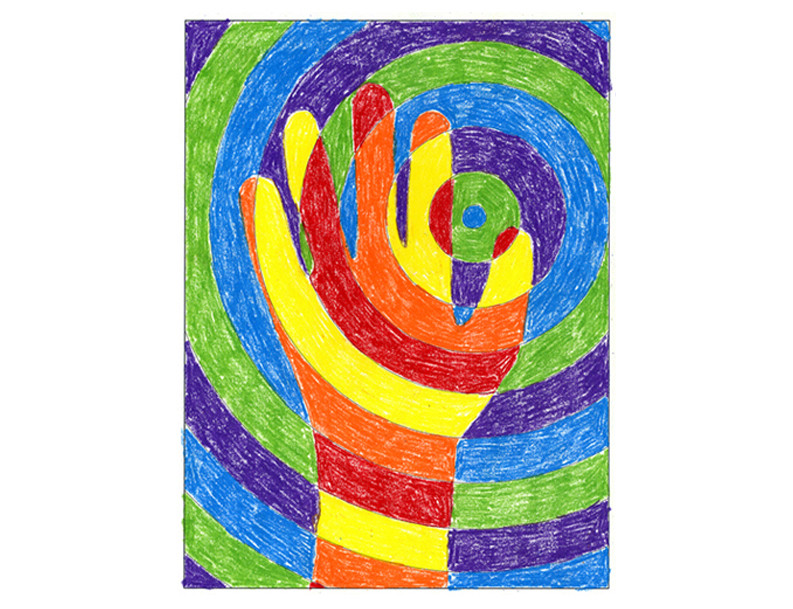 Best ideas about Hand Art For Kids . Save or Pin Warm Hands Color Lesson Project Art Projects for Kids Now.