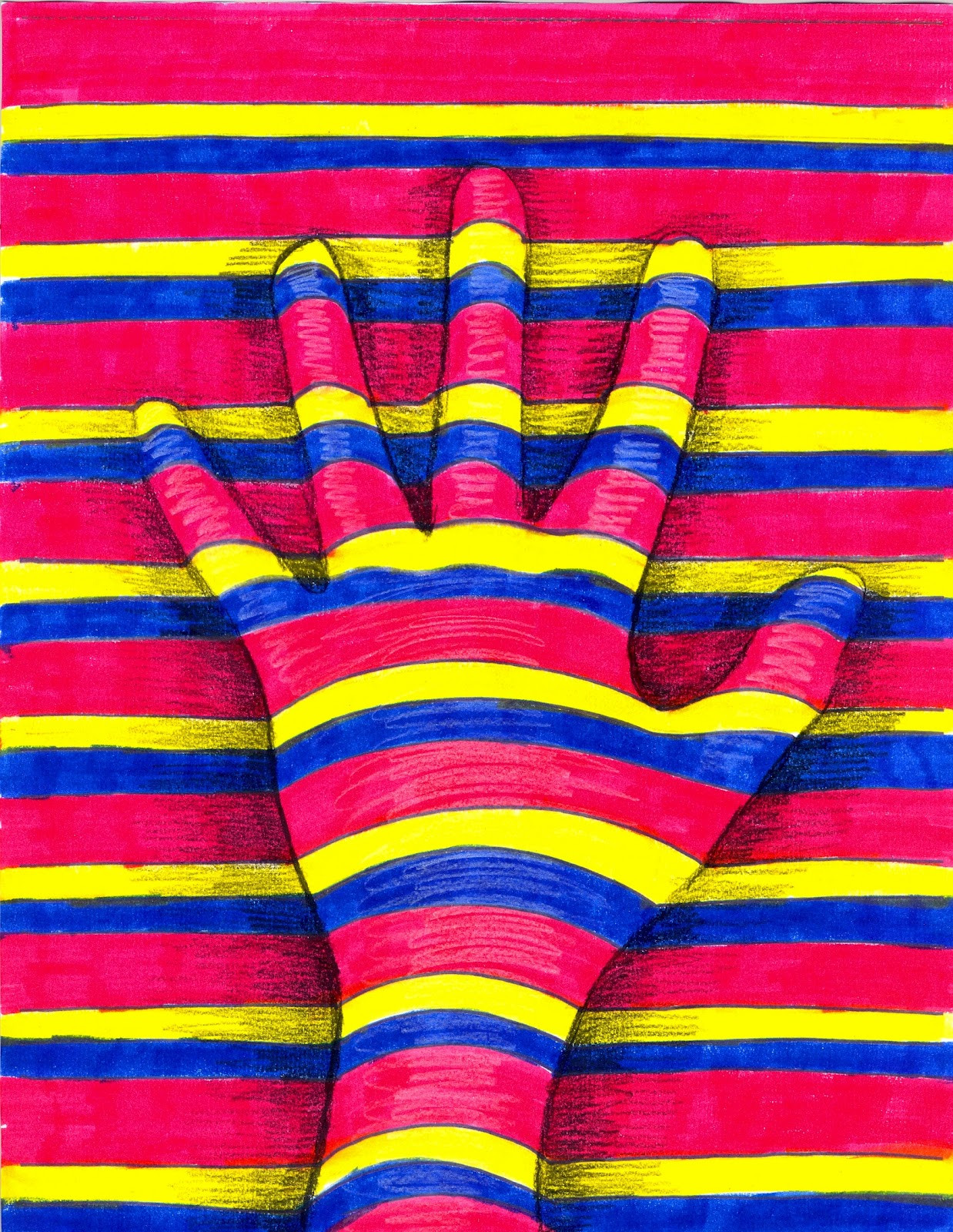 Best ideas about Hand Art For Kids . Save or Pin The Lost Sock Art Elements using Hands Now.