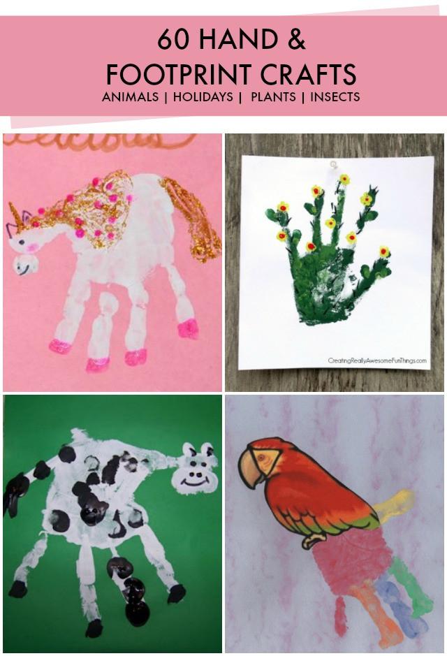 Best ideas about Hand Art For Kids . Save or Pin handprint art ideas Now.