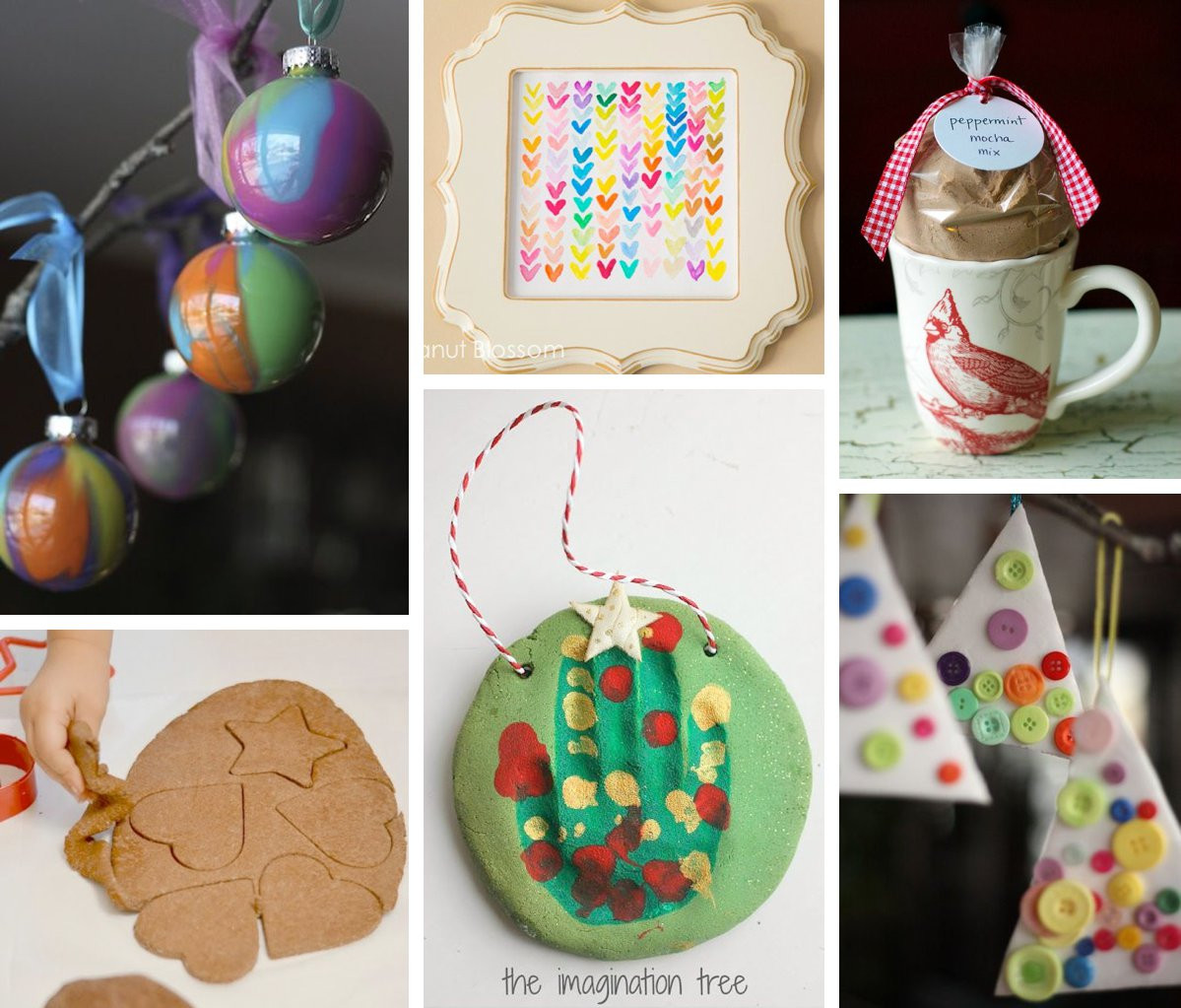 Best ideas about Handmade Christmas Gifts For Kids . Save or Pin 10 DIY Holiday Gifts Kids Can Help Make Now.