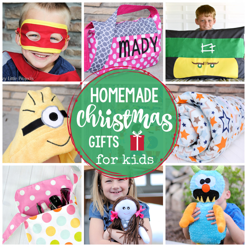 Best ideas about Handmade Christmas Gifts For Kids . Save or Pin 25 Homemade Christmas Gifts for Kids Crazy Little Projects Now.