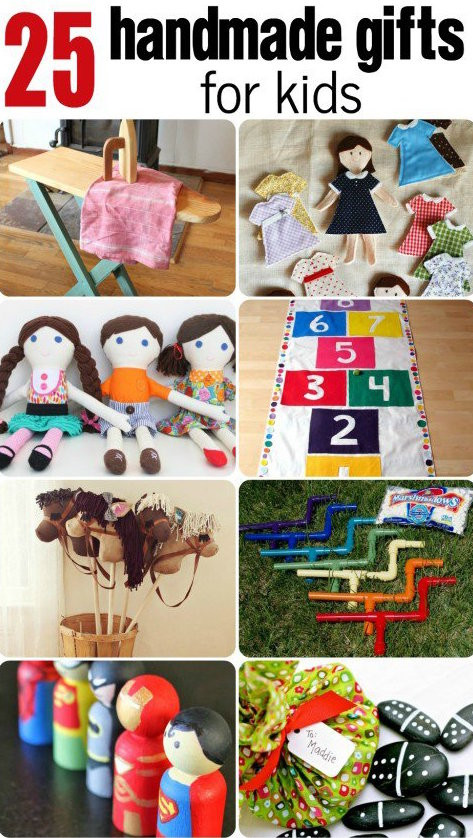 Best ideas about Handmade Christmas Gifts For Kids . Save or Pin Handmade Gifts for Kids Now.