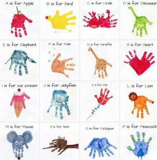 Best ideas about Handprint Crafts For Preschoolers . Save or Pin Cute Handprint and Footprint Crafts Princess Pinky Girl Now.