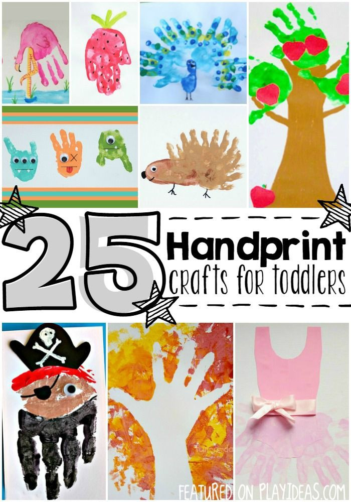 Best ideas about Handprint Crafts For Preschoolers . Save or Pin 25 Precious Handprint Crafts for Toddlers Now.