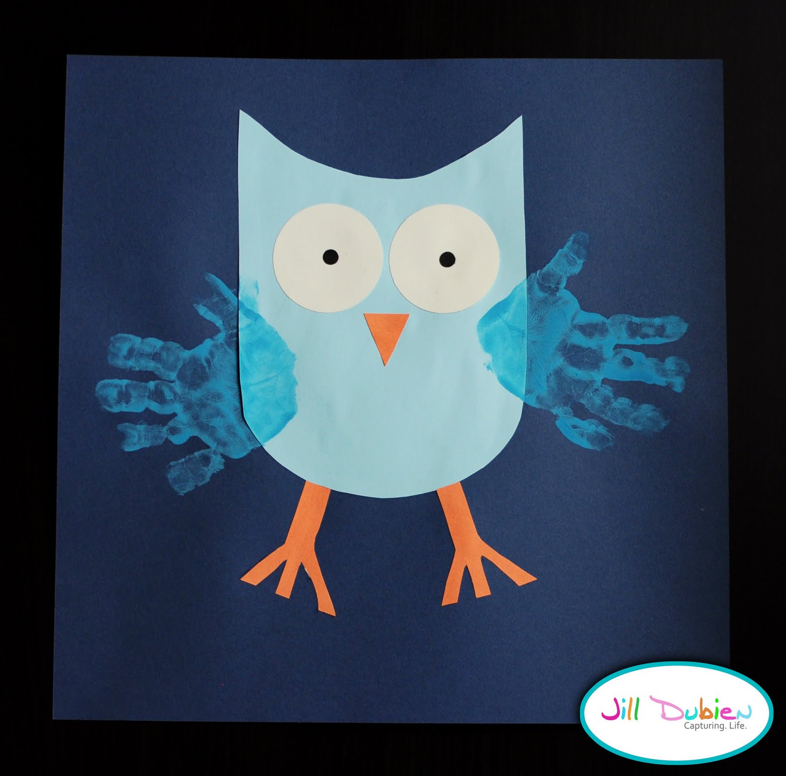 Best ideas about Handprint Crafts For Preschoolers . Save or Pin Owls Storytime on Pinterest Now.