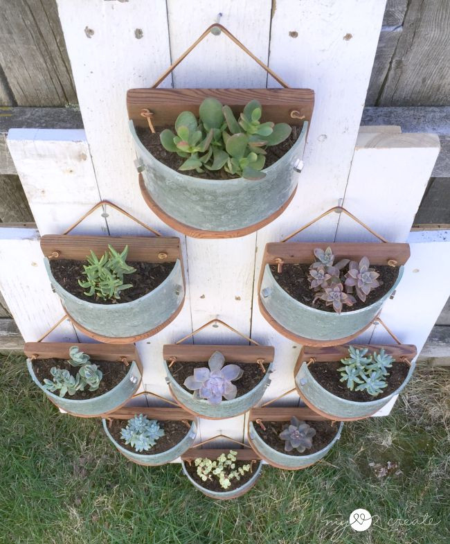 Best ideas about Hanging Succulent Planter . Save or Pin Succulent Planters from Light Fixtures Now.