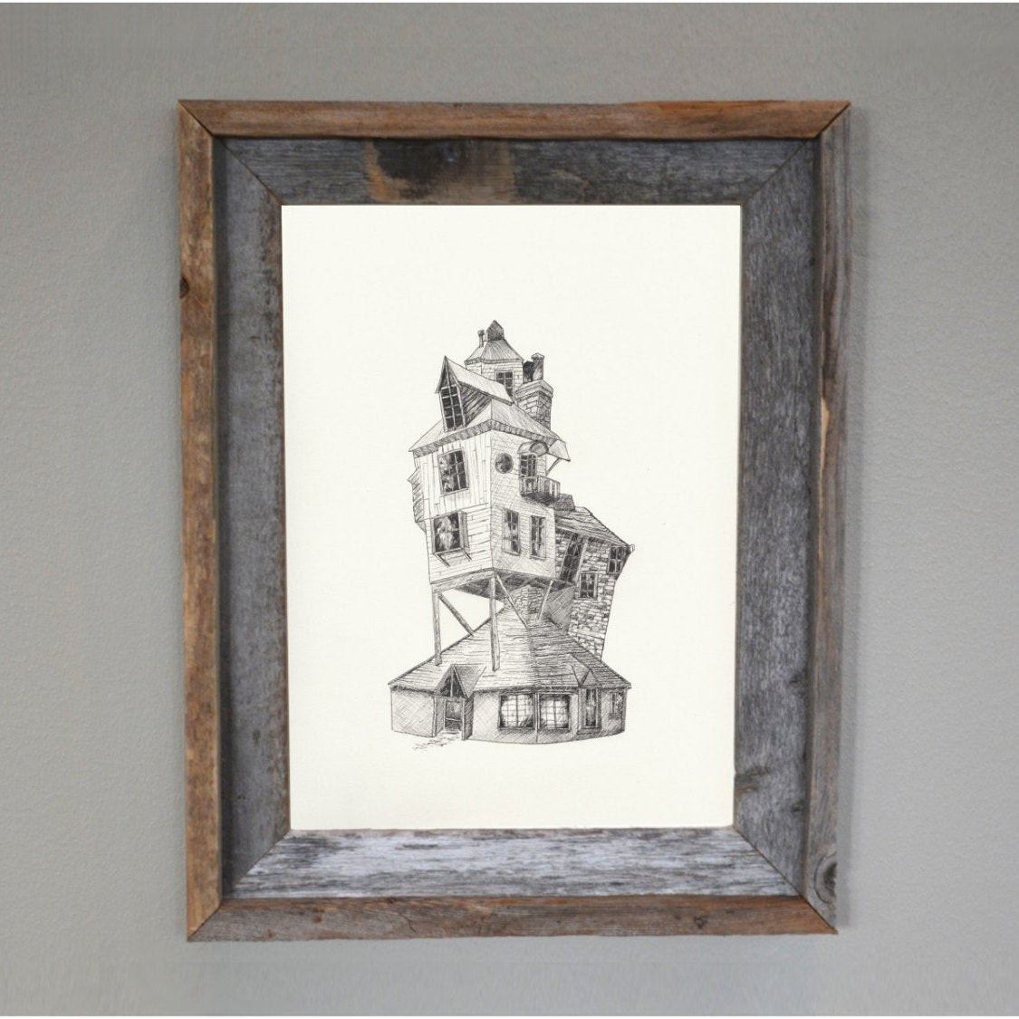 Best ideas about Harry Potter Wall Art . Save or Pin Harry Potter Harry Potter Wall Art Weasley House The Burrow Now.