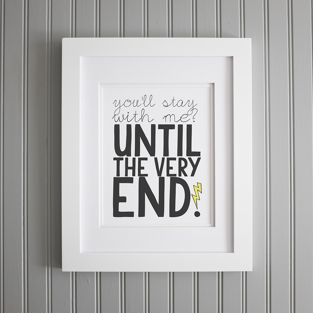 Best ideas about Harry Potter Wall Art . Save or Pin Harry Potter Quote I Love You Wall Art Nursery by Now.