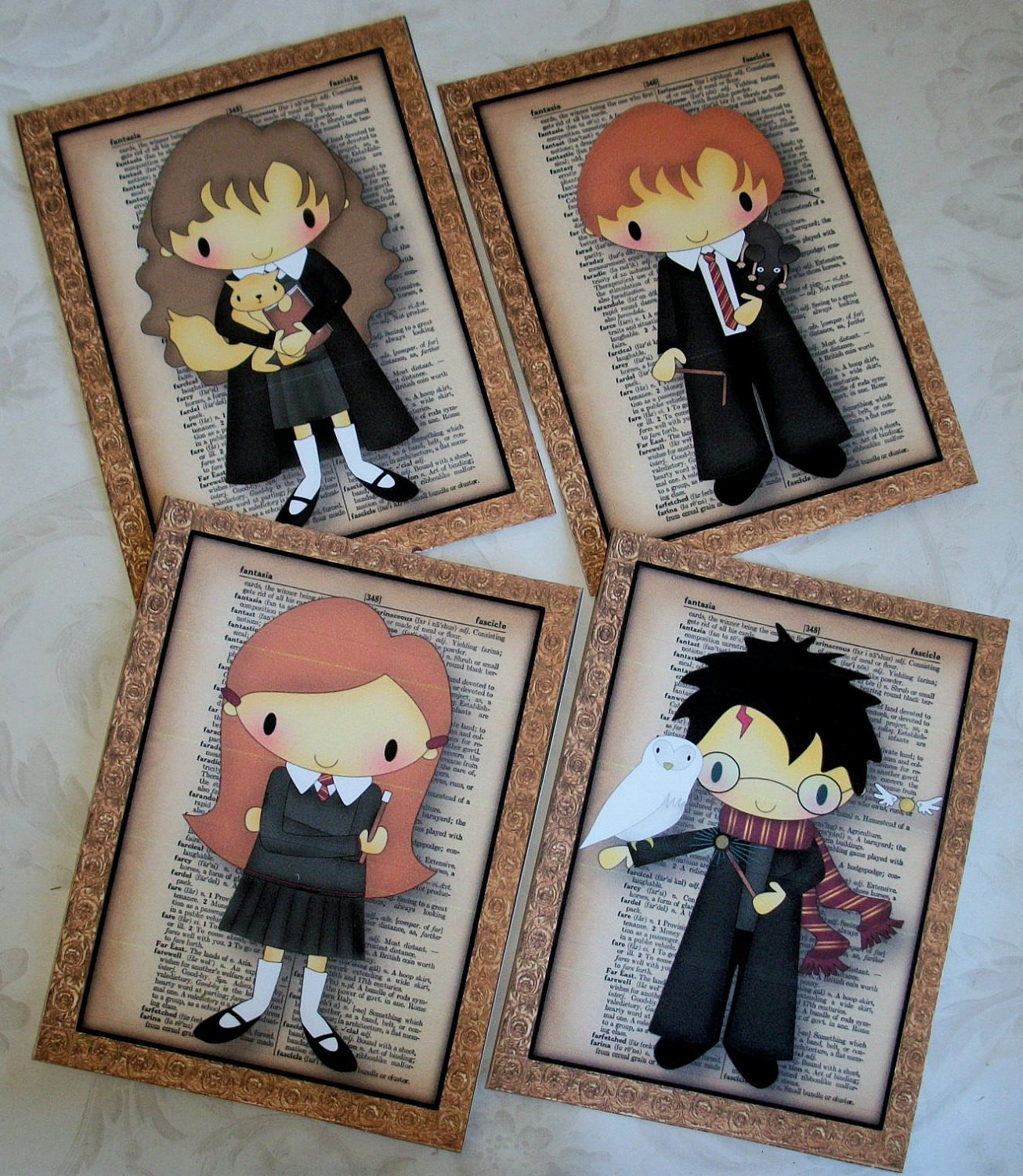 Best ideas about Harry Potter Wall Art . Save or Pin HARRY POTTER WaLL ArT your choice of 5x7 prints or 8x10 Now.