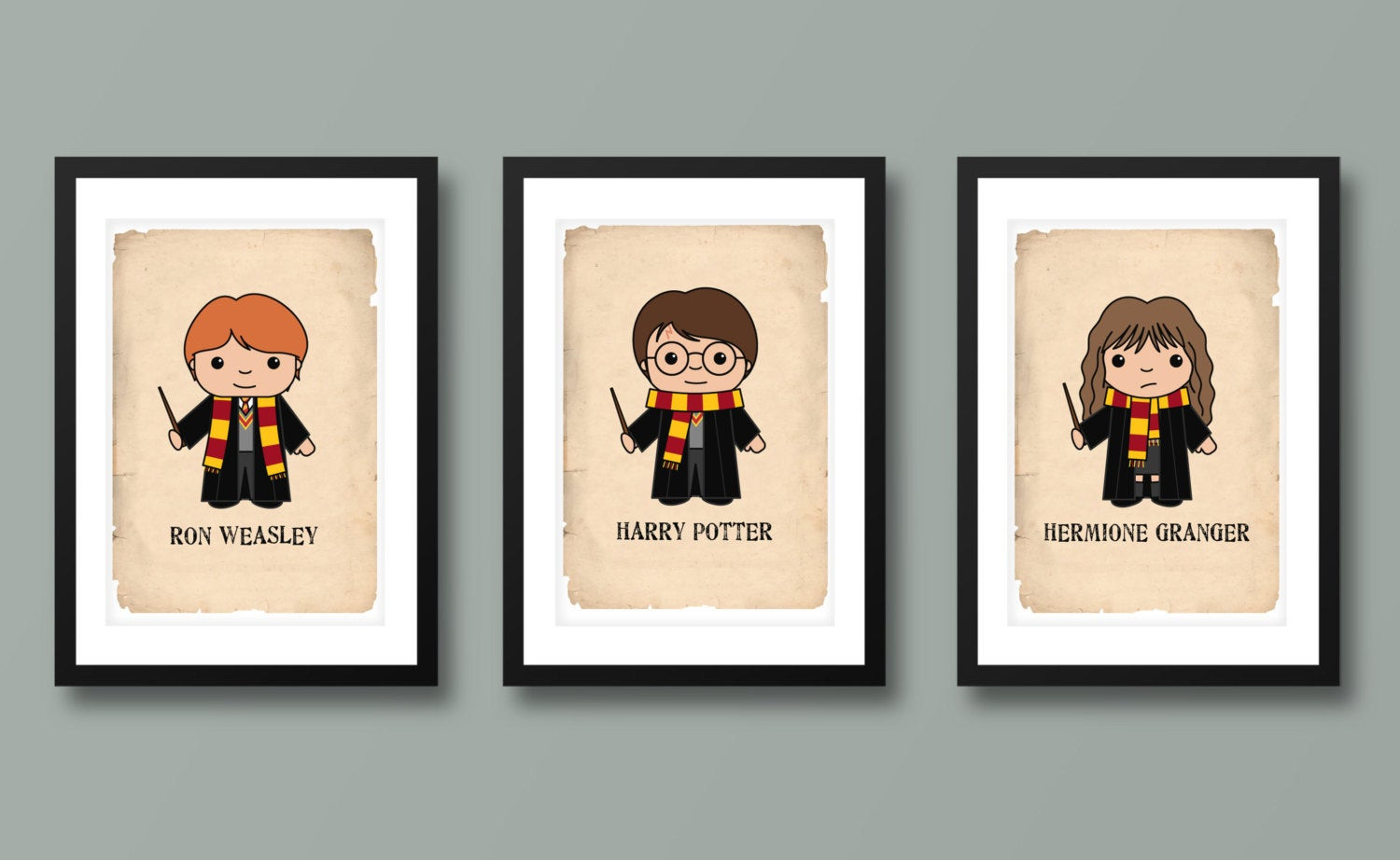 Best ideas about Harry Potter Wall Art . Save or Pin Harry Potter inspired wall art kids wall art Harry Potter Now.