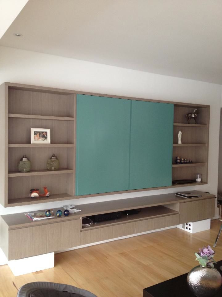 Best ideas about Hidden Tv Cabinet . Save or Pin mueble TV Living Rooms & Sofas Pinterest Now.