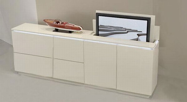 Best ideas about Hidden Tv Cabinet . Save or Pin Hidden Televisions for ultra geeky homes Hometone Now.