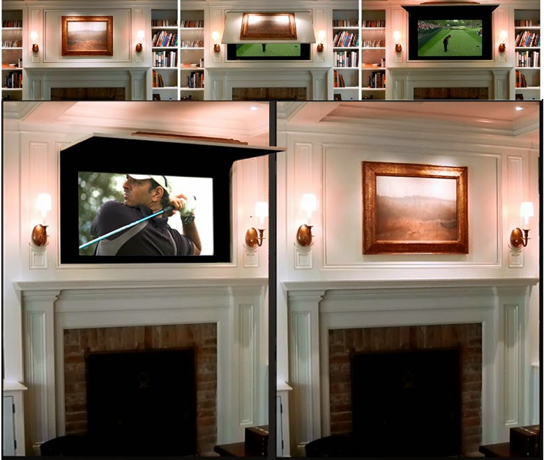Best ideas about Hidden Tv Cabinet . Save or Pin Hidden TV Cabinet with TVCoverUps Now.