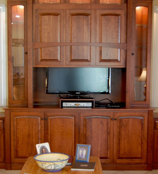 Best ideas about Hidden Tv Cabinet . Save or Pin Hidden TV Display Cabinet Now.