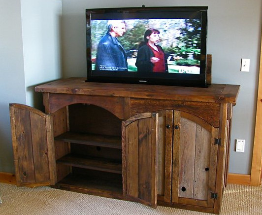 Best ideas about Hidden Tv Cabinet . Save or Pin The Well Hidden TV Clever Disguises for That Big Black Now.