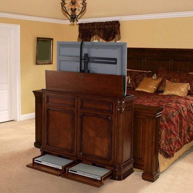 Best ideas about Hidden Tv Cabinet . Save or Pin Hidden TV Lifts Ideas for Built in or Hidden TV Lift Now.