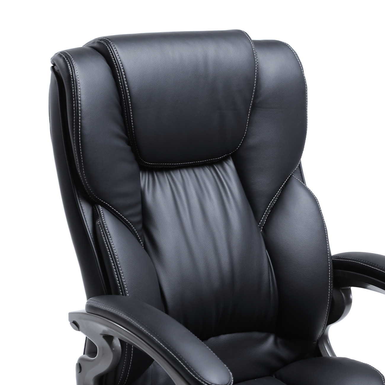 Best ideas about High Office Chair . Save or Pin Black PU Leather High Back fice Chair Executive Task Now.