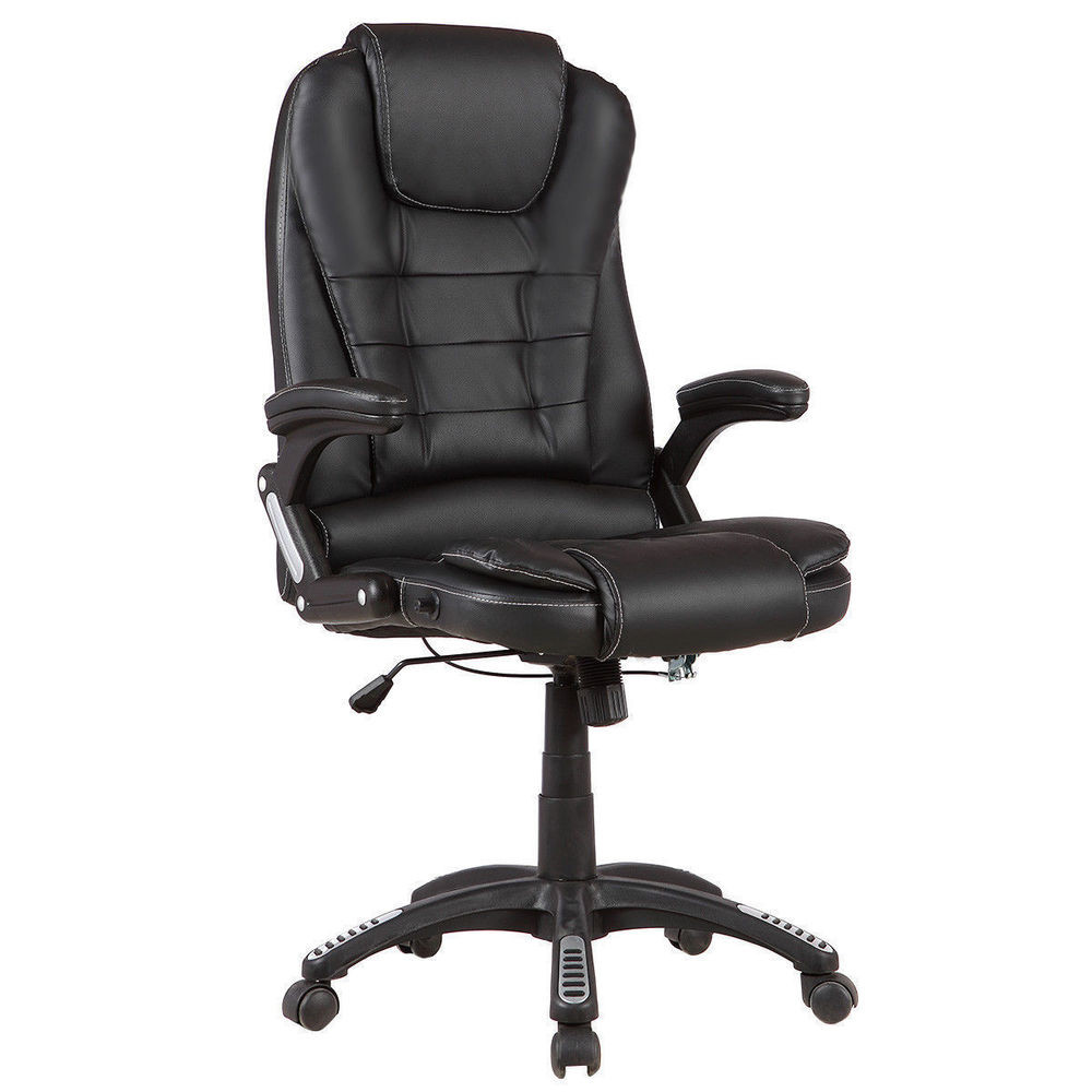 Best ideas about High Office Chair . Save or Pin Executive High Back Recliner PU Leather fice Chair Desk Now.