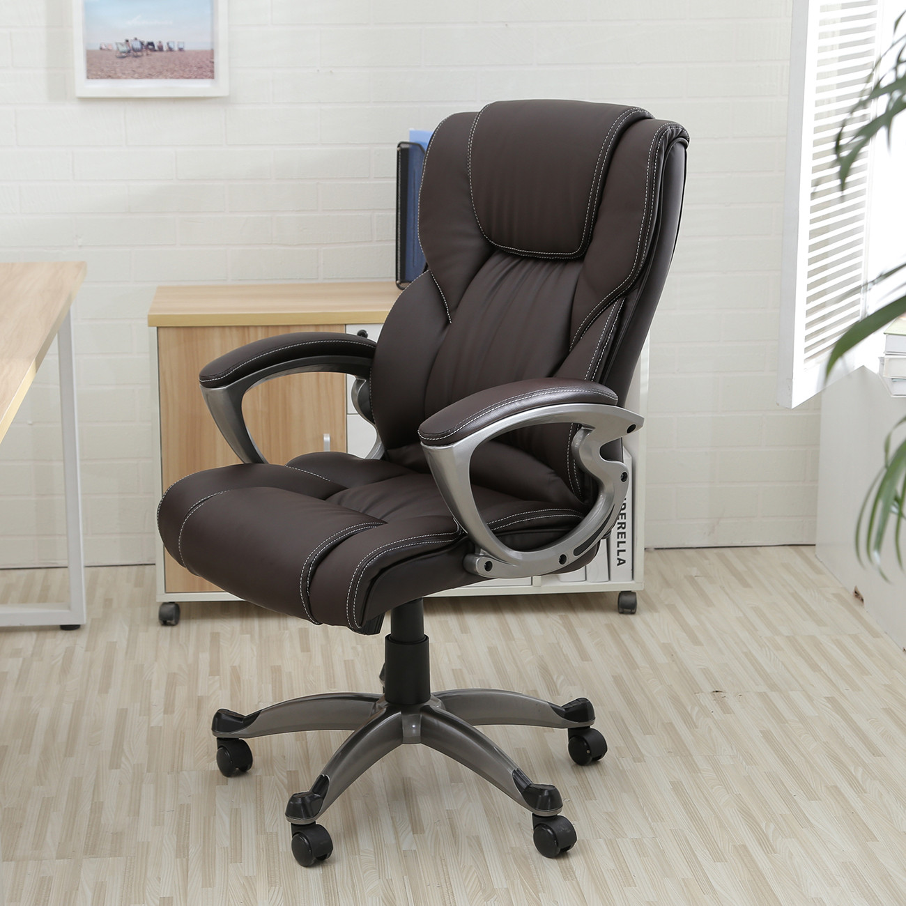 Best ideas about High Office Chair . Save or Pin Executive fice Chair High Back Task Ergonomic puter Now.