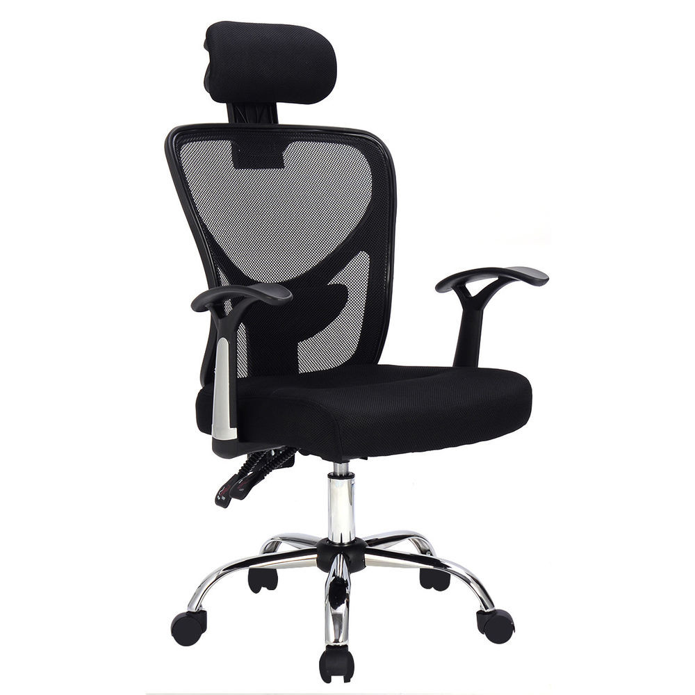 Best ideas about High Office Chair . Save or Pin Ergonomic Mesh High Back fice Chair puter Desk Task Now.