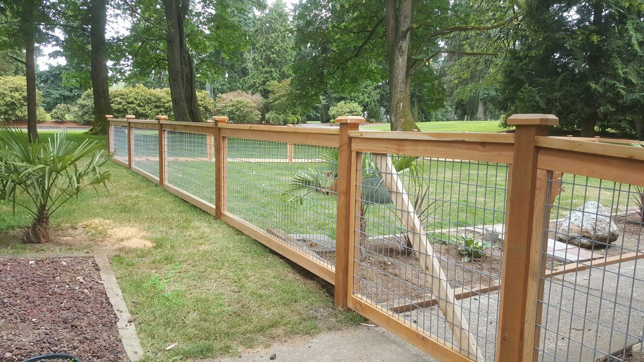 Best ideas about Hog Wire Fence DIY . Save or Pin Good Ideas For Hog Wire Fencing — Home Ideas Collection Now.