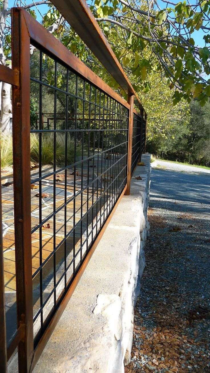 Best ideas about Hog Wire Fence DIY . Save or Pin Best 25 Wire deck railing ideas on Pinterest Now.