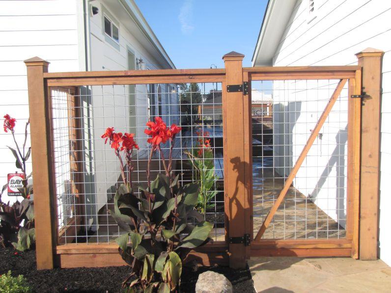 Best ideas about Hog Wire Fence DIY . Save or Pin 101 DIY Hog Wire Deck Railing decoratio Now.