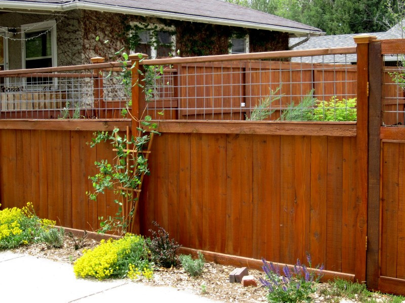 Best ideas about Hog Wire Fence DIY . Save or Pin 27 Cheap DIY Fence Ideas for Your Garden Privacy or Now.