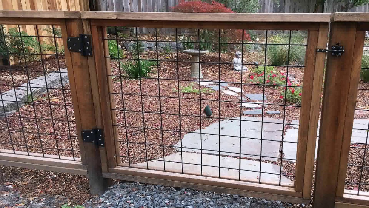 Best ideas about Hog Wire Fence DIY . Save or Pin Diy Hog Wire Deck Railing Plans Now.