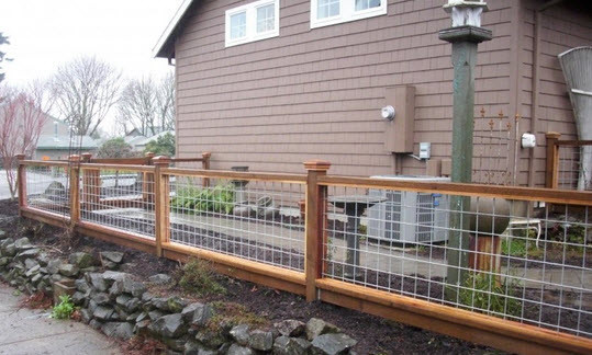 Best ideas about Hog Wire Fence DIY . Save or Pin Hometalk Now.