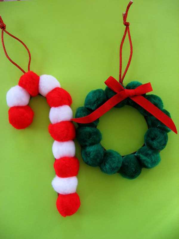 Best ideas about Holiday Craft Idea For Kids . Save or Pin Top 38 Easy and Cheap DIY Christmas Crafts Kids Can Make Now.