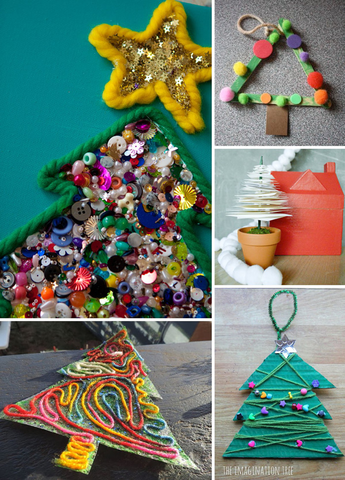 Best ideas about Holiday Projects For Kids . Save or Pin O Tannenbaum 10 Christmas Tree Crafts for Kids Lasso Now.
