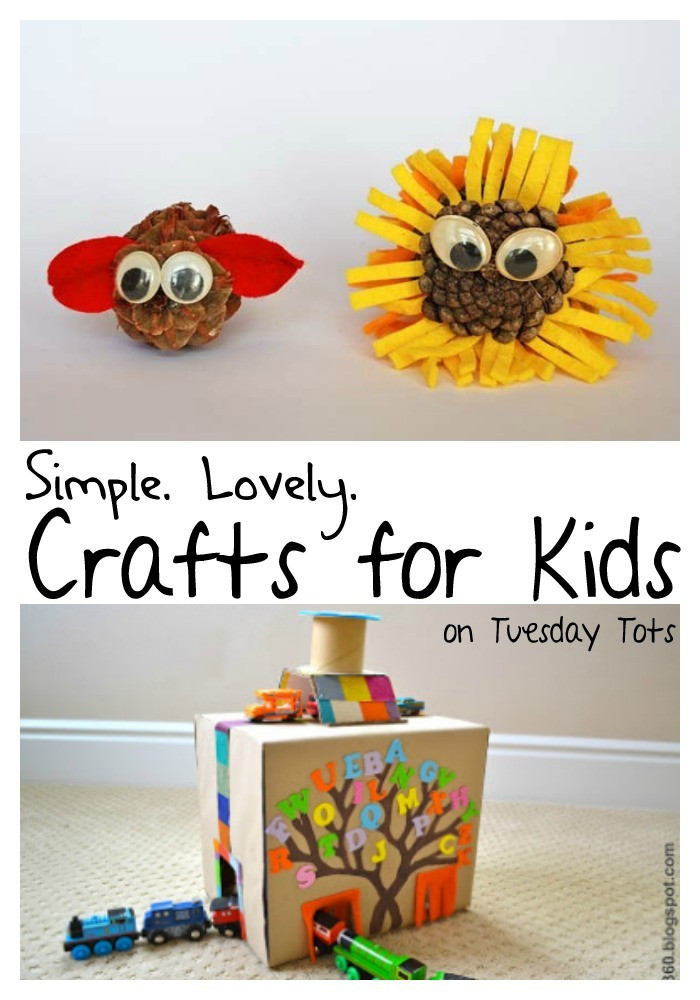 Best ideas about Home Crafts For Toddlers . Save or Pin Learn with Play at Home Easy Crafts for Kids Now.
